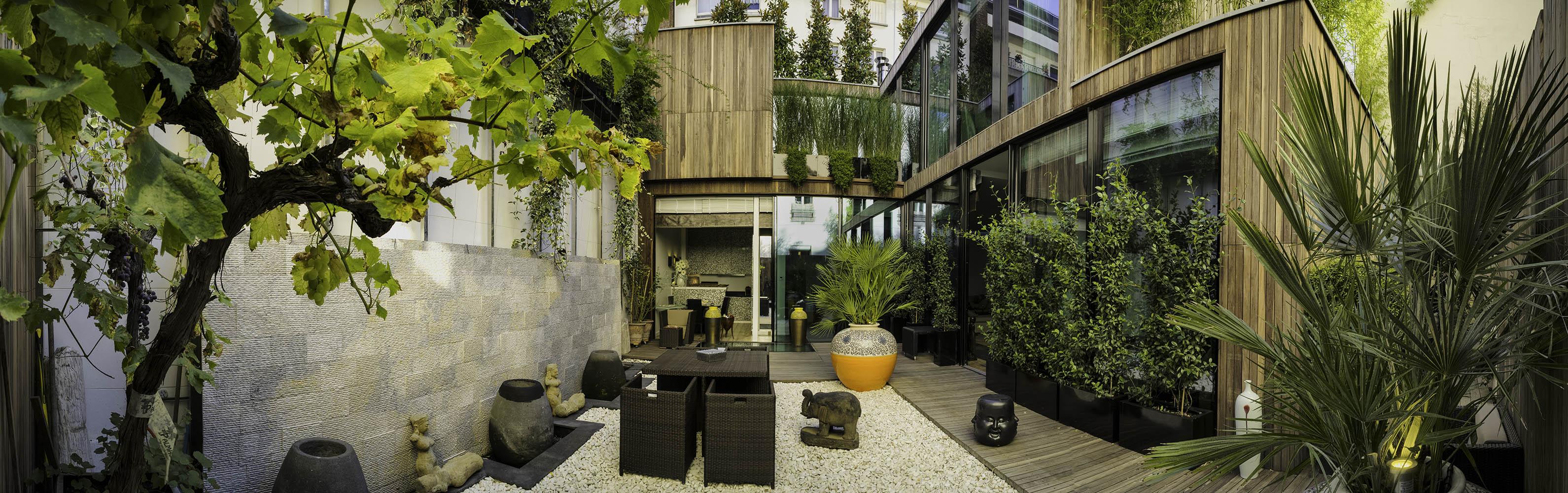Paris 13eme rare maison ind pendante vendre rue de la for Buttes aux cailles piscine